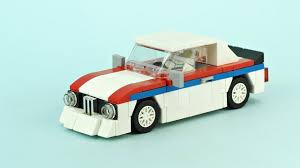 lego porsche minifig scale lego bmw racing car moc building instructions youtube