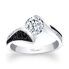 white and black diamond engagement rings 93 best black diamond engagement rings images on black