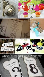 Alice And Wonderland Home Decor by Alice In Wonderland Themed Weddings Choice Image Wedding