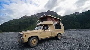 Ford Ranger Truck Camping - vintage u0026 rare rv tour 1984 ford ranger roll a long motorhome