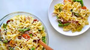 asparagus pasta salad with italian dressing just a taste