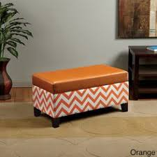 Chevron Storage Ottoman Threshold Single Square Storage Ottoman Blue And White Chevron