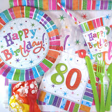 decoration table anniversaire 80 ans boîte décoration anniversaire 80 ans 1 clic 1 fête
