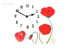 pendule de cuisine horloge de cuisine moderne finest pendule murale de cuisine