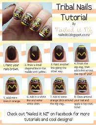 nail art for short nails 7 tribal nails