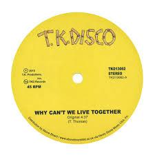timmy thomas why can u0027t we live together lntg rework vinyl 12