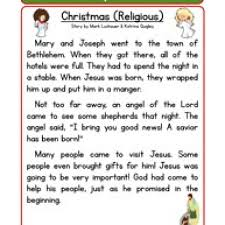 all worksheets christmas story reading comprehension worksheets
