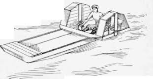 how to build a paddle wheel boat