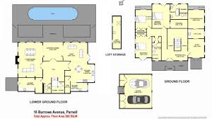 The Burrow Floor Plan Private Haven On Alberon Reserve 16 Burrows Avenue Parnell