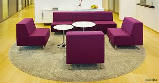 Purple Chair Uk Reception Chairs Purple Modular Chairs