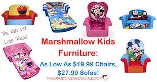 Elmo Sofa Chair Marshmallow Kids Furniture As Low As 19 99 Chairs 27 99 Sofas