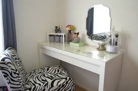 Makeup Organizer Desk Bedroom Vanit Mind Vanity Mirrored Desk Makeup Plus Makeup