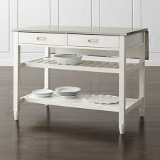 white kitchen islands shop stylish kitchen islands carts crate and barrel