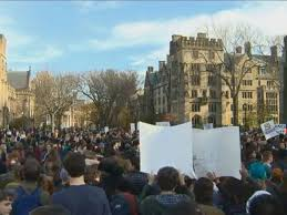 Yale Thanksgiving Break Racism At Yale Culminated In Over 1 000 Marching