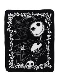the nightmare before throw blanket topic