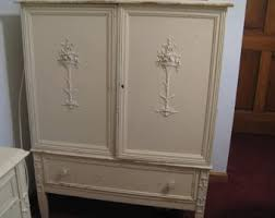 White Vintage Armoire Vintage Sligh Furniture Etsy