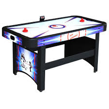 hathaway patriot 5 ft air hockey table bg4009h the home depot