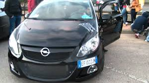 opel corsa opc 2008 opel corsa opc tuning exhaust sound youtube