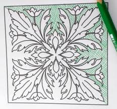 colored pencil techniques how to color flowers and leaves the
