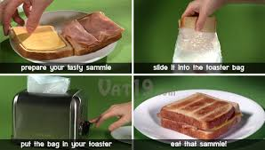 Garlic Bread In Toaster Toastit Toaster Bags Toast Sandwiches In Your Toaster
