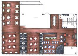 kitchen drawing sample layout cozy home design restaurant floor plan template free