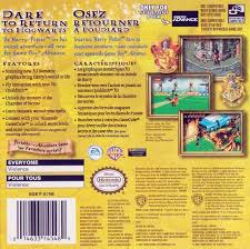 harry potter et la chambre des secrets gba image gba back 0 jpg harry potter wiki fandom powered by wikia