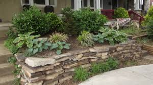 garden design with rock ideas using nature exterior accent