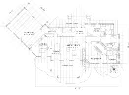 Timber Floor Plan by Cascade Modern Timber Frame Floor Plan