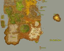 kalimdor map greywolf s of warcraft fan site travel