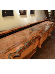 furniture interesting mesquite shuffleboard table design