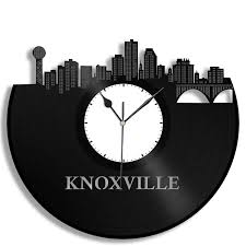 knoxville clock birthday gift idea tennessee cityscape
