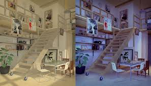 chinese living room day and night by guswindo on deviantart