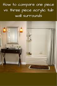 Fiberglass Or Acrylic Bathtub Bathroom Swanstone Tub Surround Fiberglass Bathtub Lowes Bathtubs
