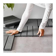 Ikea Patio Tiles Runnen Decking Outdoor Gray Decking Balconies And Patios