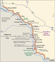 wisconsin scenic drives map wisconsin scenic drives great river road howstuffworks