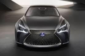 mobil yamaha lexus lexus lf fc concept previews new flagship sedan