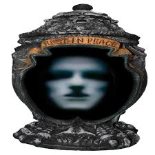 talking haunted ash urn animated decoration halloween animatronic