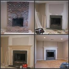 remove raised hearth turn into flush hearth new fireplace insert