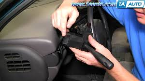 how to install replace turn signal wiper switch dodge intrepid 93
