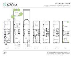 vanderbilt housing floor plans 154 hicks street townhouse brooklyn heights ny 11201 brooklyn