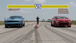 hennessey edition camaro 707 hp hellcat vs 751 hp camaro ss fight
