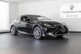 used 2015 lexus rc f 2015 lexus rc 350 f sport for sale in colorado springs co 17228b