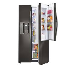 French Door Refrigerator Without Water Dispenser - lg counter depth refrigerators with large capacity lg usa