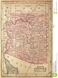 Bisbee Arizona Map by 1880 Map Of Arizona Royalty Free Stock Photography Image 13218107