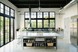 modern kitchen interior extraordinary modern industrial kitchen interior designs