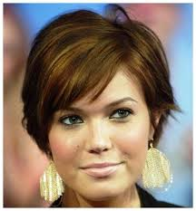 40 super cute looks with short hairstyles for round faces short