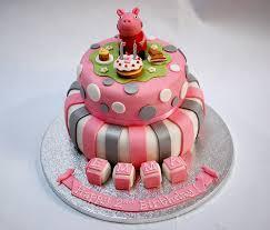 peppa pig birthday cakes peppa pig s birthday cake beautiful birthday cakes