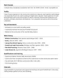 resume construction experience resume laborer gse bookbinder co