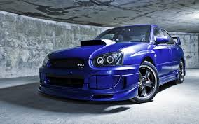 subaru impreza modified blue subaru impreza wallpapers group 81
