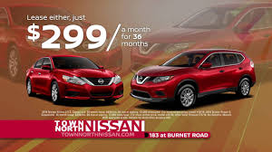 nissan sentra lease price it u0027s the big exchange town north nissan youtube